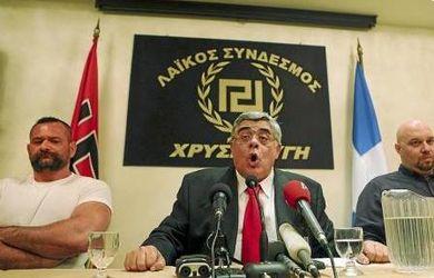 Nikolaos Michaloliakos: líder del partido neonazi
